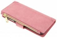 Luxe Portemonnee voor Huawei P10 Lite - Roze