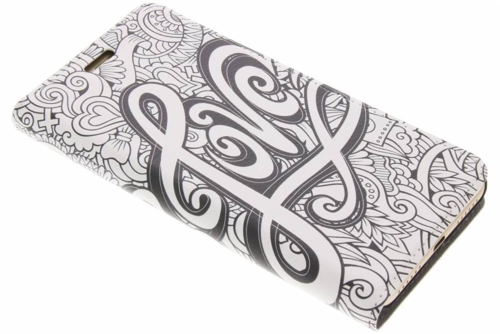 Design Hardcase Booktype voor Huawei Y5 2 / Y6 2 Compact - Love