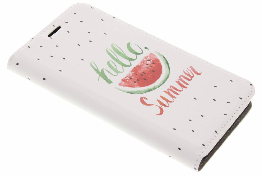 Design Hardcase Booktype voor Samsung Galaxy J3 / J3 (2016) - Watermeloen
