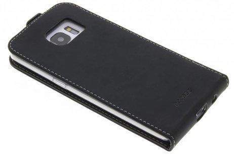 Accezz Flipcase voor Samsung Galaxy S7 Edge - Zwart