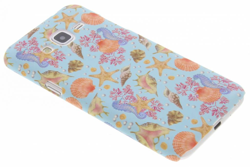 Design Backcover voor Samsung Galaxy J3 / J3 (2016) - Seashell