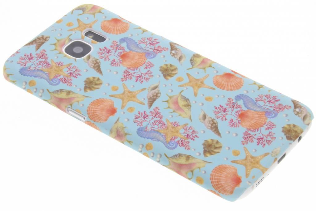 Design Backcover voor Samsung Galaxy S7 Edge - Seashell