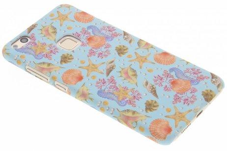 Design Backcover voor Huawei P10 Lite - Seashell