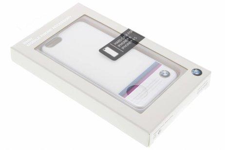 BMW Hard Case Aluminium Plate voor de iPhone 6 / 6s - White