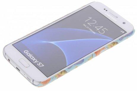Design Backcover voor Samsung Galaxy S7 - Seashell
