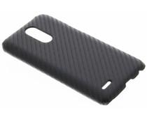 Carbon Hardcase Backcover LG K10 (2017)