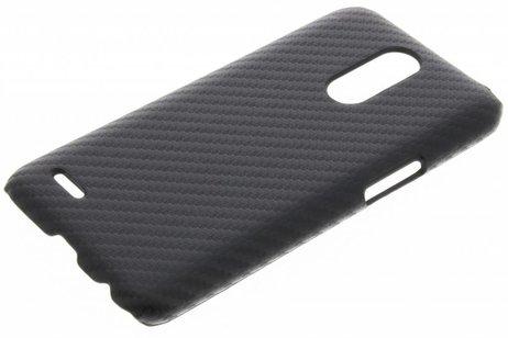 LG K10 (2017) hoesje - Carbon Hardcase Backcover voor