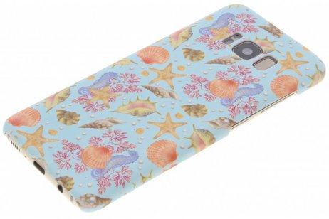 Design Backcover voor Samsung Galaxy S8 - Seashell