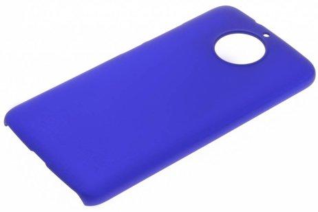 Effen Backcover voor Motorola Moto G5S Plus - Blauw