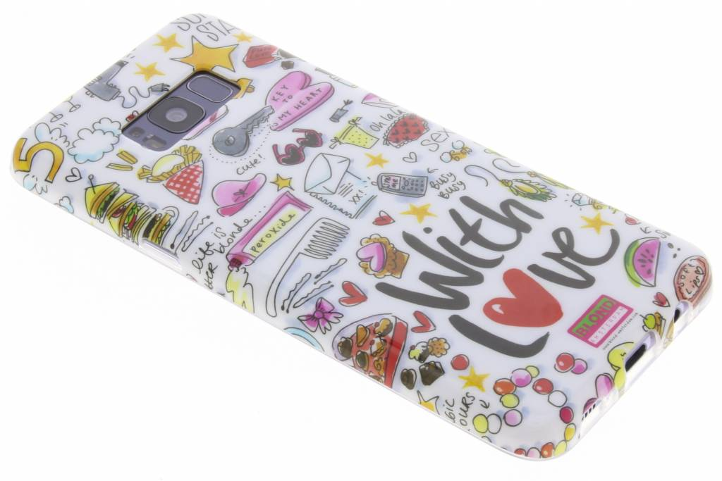 Blond Amsterdam Design Backcover voor Samsung Galaxy S8 Plus - With love