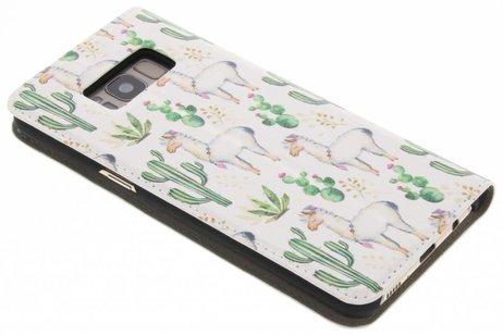 Samsung Galaxy S8 hoesje - Design Hardcase Booktype voor