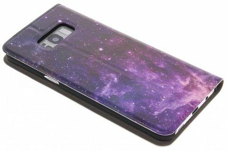 Samsung Galaxy S8 Plus hoesje - Design Hardcase Booktype voor