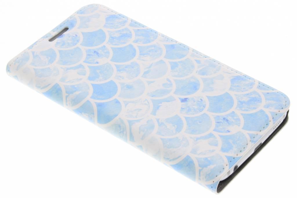 Design Hardcase Booktype voor Samsung Galaxy S6 - Zeemeermin