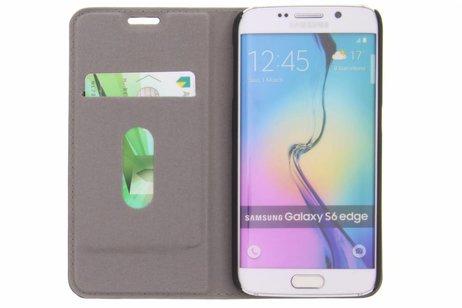 Design Hardcase Booktype voor Samsung Galaxy S6 Edge - Banaan