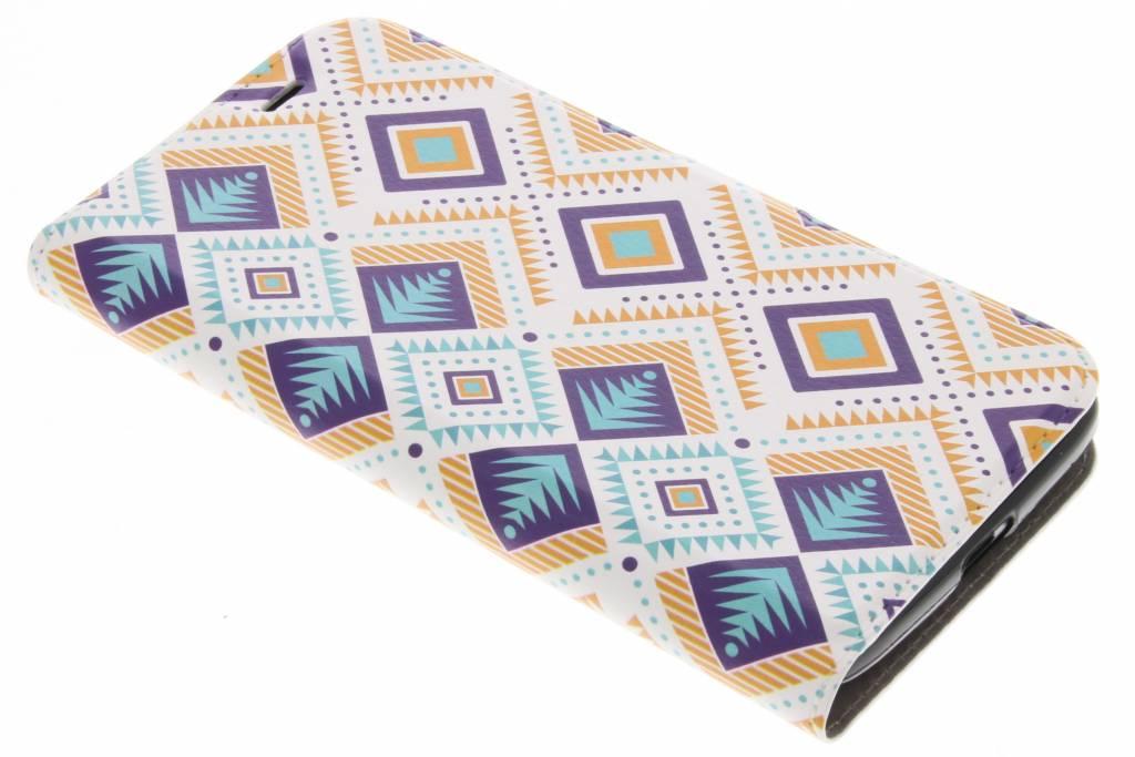 Design Softcase Booktype voor Acer Liquid Zest (4G) - Aztec