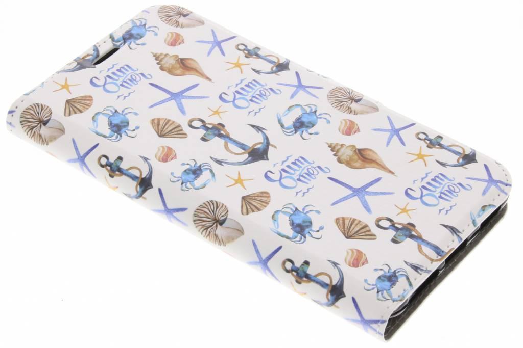 Design Softcase Booktype voor Acer Liquid Z6 Plus - Zee