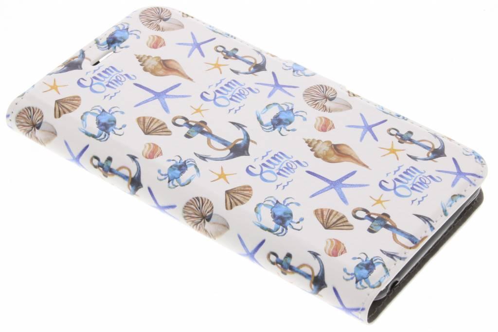 Design Softcase Booktype voor Acer Liquid Z6 - Zee
