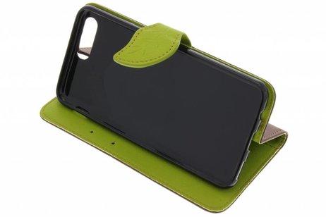 OnePlus 5 hoesje - Blad Design Booktype voor