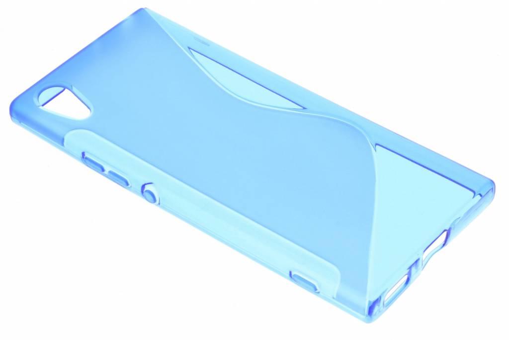 S-line Backcover voor Sony Xperia XA1 - Blauw