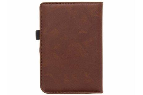 Pocketbook Touch Lux 3 hoesje - Luxe Effen Bookcase voor