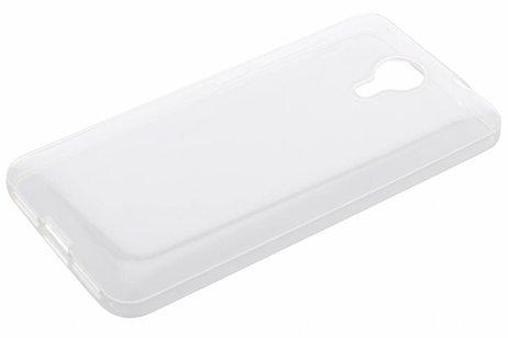 Softcase Backcover voor General Mobile 4G / GM5 - Transparant