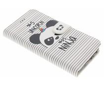 Design Softcase Booktype Motorola Moto G5 Plus