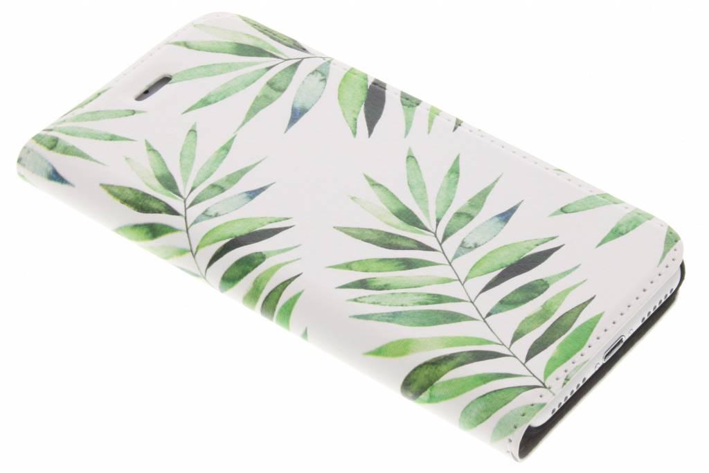 Design Hardcase Booktype voor iPhone 8 / 7 - Palm