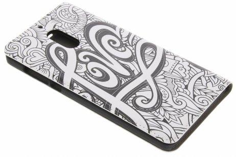 Nokia 6 hoesje - Design Hardcase Booktype voor