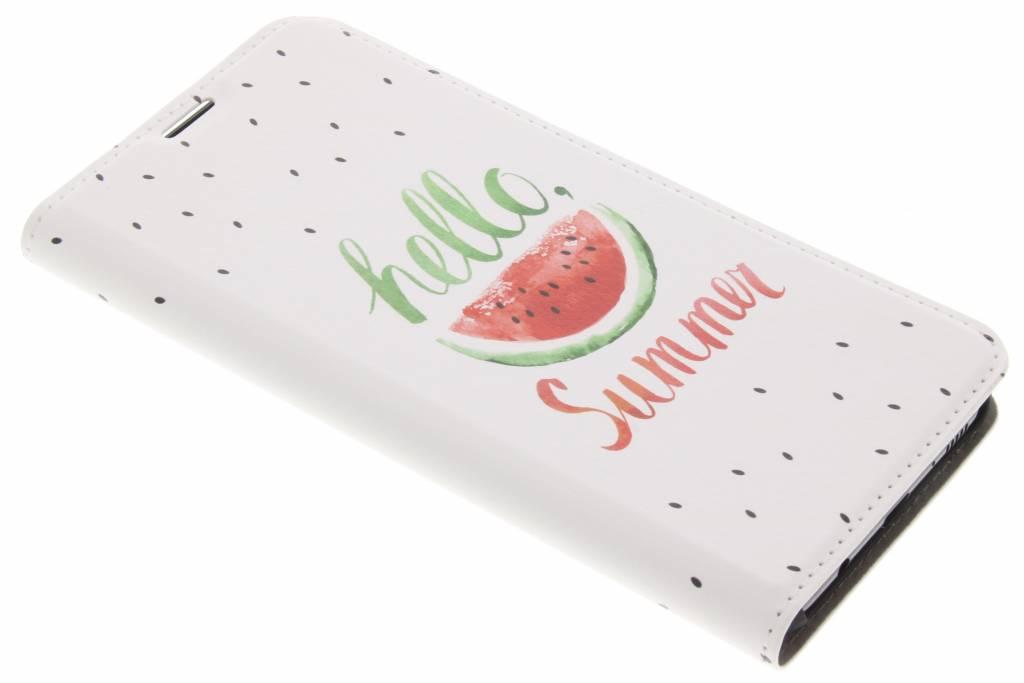 Design Hardcase Booktype voor Samsung Galaxy S8 Plus - Watermeloen