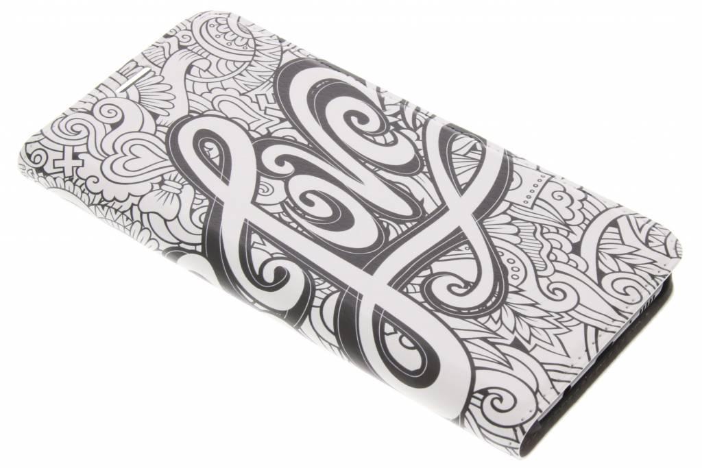 Design Hardcase Booktype voor Samsung Galaxy S8 Plus - Love