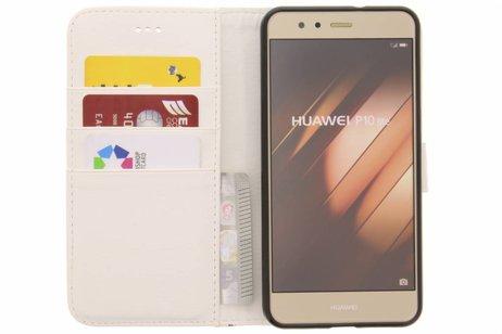 Design Softcase Booktype voor Huawei P10 Lite - Mini Flamingo