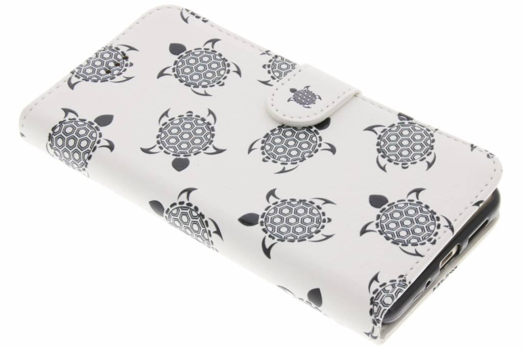 Design Softcase Booktype voor Huawei P10 Lite - Schildpad