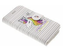 Design Softcase Booktype Samsung Galaxy A3 (2016)
