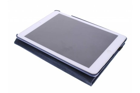 360° Draaibare Bookcase voor iPad Air - Blauw