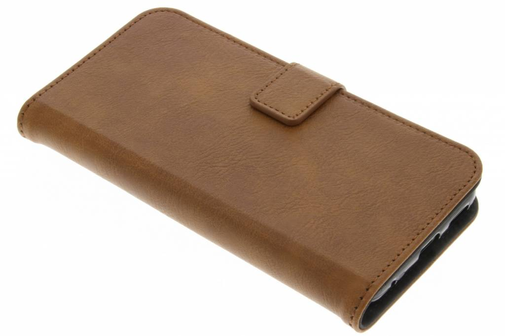 Luxe Lederen Booktype voor LG G6 - Bruin