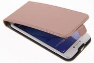 Selencia Luxe Hardcase Flipcase voor Huawei P8 Lite (2017) - Rosé goud