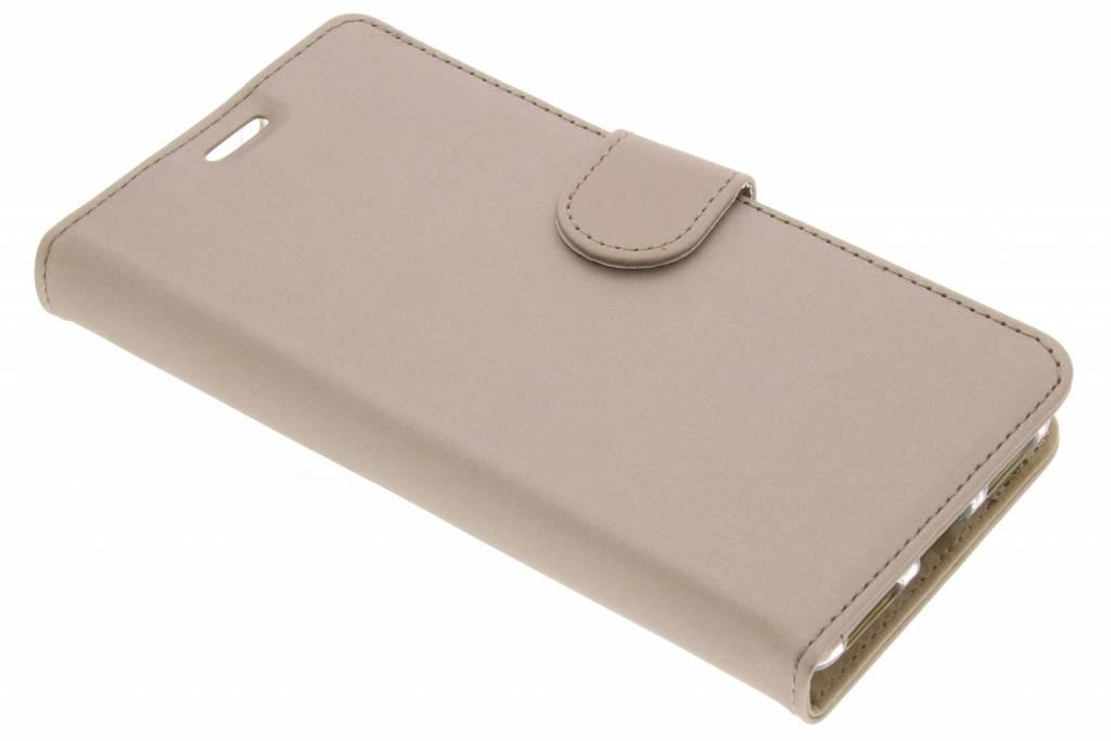 Accezz Wallet Softcase Booktype voor BlackBerry KeyOne - Goud