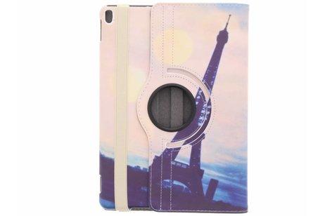 360° Draaibare Design Bookcase voor iPad Pro 10.5 / Air 10.5 - Paris at Night