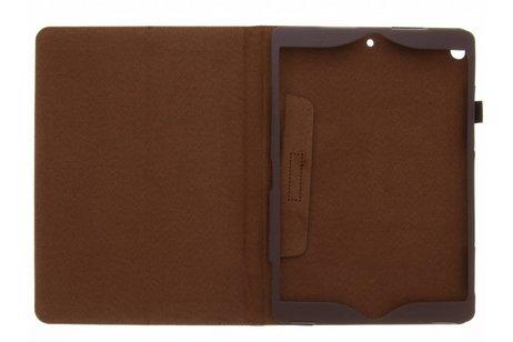 Effen Bookcase voor iPad Pro 10.5 / Air 10.5 - Bruin