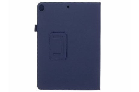 Effen Bookcase voor iPad Pro 10.5 / Air 10.5 - Donkerblauw