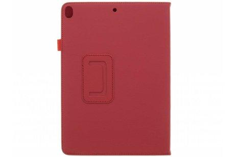 Effen Bookcase voor iPad Pro 10.5 / Air 10.5 - Rood
