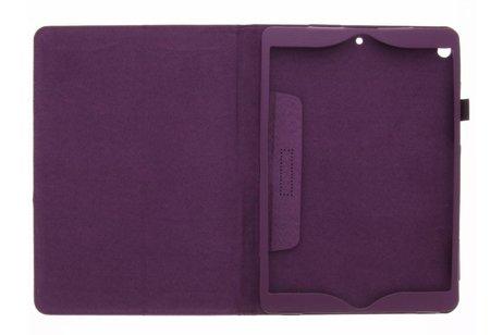 Effen Bookcase voor iPad Pro 10.5 / Air 10.5 - Paars