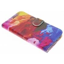 Design Softcase Booktype OnePlus 5