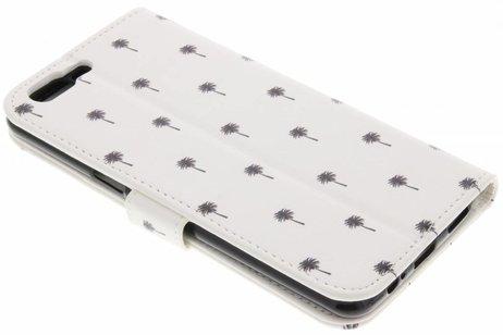 Design Softcase Booktype voor OnePlus 5 - Mini Palmtrees