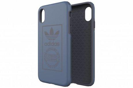 adidas Originals Dual Layer Backcover voor iPhone X / Xs - Blauw