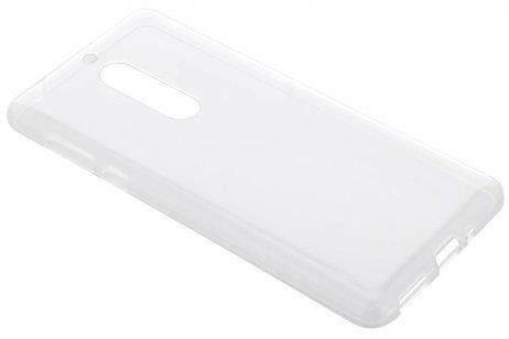 Nokia 5 hoesje - Softcase Backcover voor Nokia