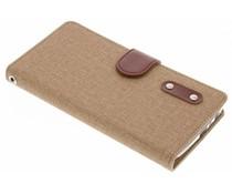 Linnen Booktype Motorola Moto G5 Plus