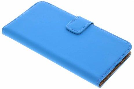 Selencia Luxe Hardcase Booktype voor iPhone X / Xs - Blauw