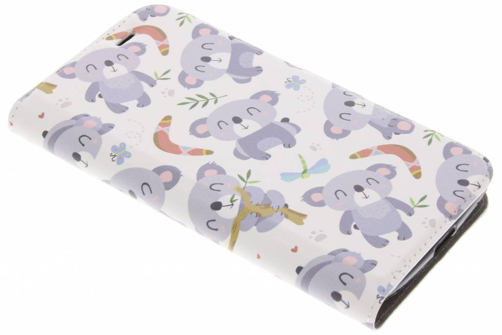 Design Softcase Booktype voor Acer Liquid Zest (4G) - Koala