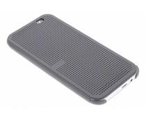 Grijs Dot-Cover hoes HTC One M8 / M8s